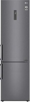 Двухкамерный холодильник LG GA-B 509 BLGL темный графит трия шкаф нижний с планками для формирования угла графит темный н 72 90 1дрпу