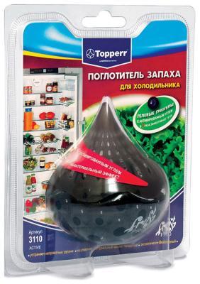 Поглотитель запаха Topperr 3110 поглотитель запаха greenfield д холодильников 2шт