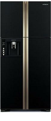Холодильник Side by Side Hitachi R-W 662 FPU3X GBK hitachi r w662eu9 gbk