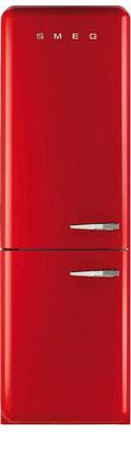 Двухкамерный холодильник Smeg FAB 32 LRN1 двухкамерный холодильник smeg fab 32 razn1