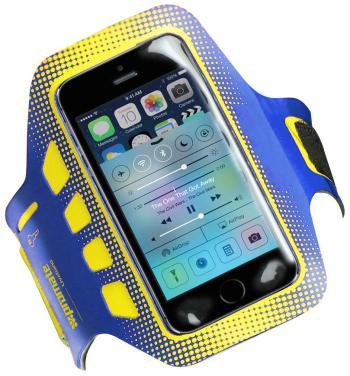 Чехол для занятий спортом Promate liveBand синий promate neat i5 чехол для iphone 5 5s maroon