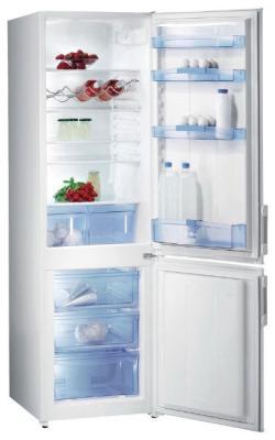 Двухкамерный холодильник Gorenje RC 4180 AW двухкамерный холодильник don r 297 b