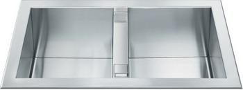 Кухонная мойка Smeg LQR 862-2 кухонная мойка smeg lgm 861 d 2