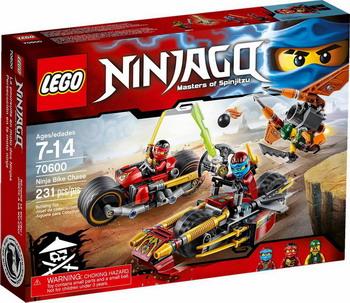 Конструктор Lego Ninjago Погоня на мотоциклах конструктор lego ninjago 70633 кай мастер кружитцу