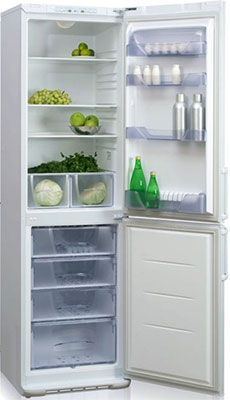 Двухкамерный холодильник Бирюса 149 цена и фото