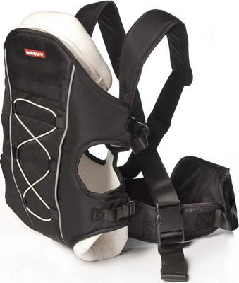 Рюкзак-переноска Happy Baby GB-809 Amalfy BLACK amalfy люлька gb 6628 bаrdo