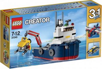 Конструктор Lego Creator Морская экспедиция 31045 контроллер dmx showtec creator compact