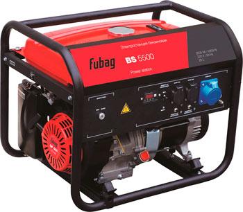 Электрический генератор и электростанция FUBAG BS 5500 бензиновая электростанция fubag bs 5500