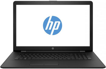 Ноутбук HP 17-bs 102 ur (2PP 82 EA) Jet Black nokotion original 773370 601 773370 001 laptop motherboard for hp envy 17 j01 17 j hm87 840m 2gb graphics memory mainboard