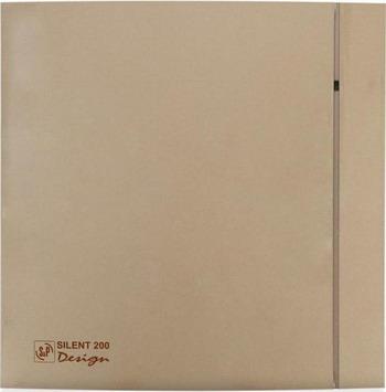 Вытяжной вентилятор Soler amp Palau SILENT-200 CZ DESIGN-4C (шампань) 03-0103-148