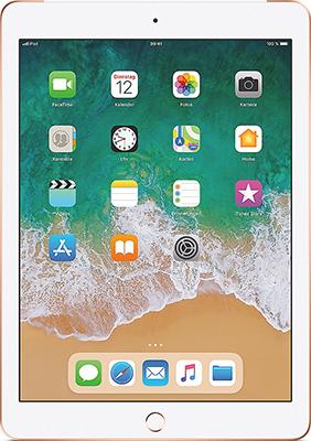 Планшет Apple iPad (2018) 128 Gb Wi-Fi + Cellular Gold (MRM 22 RU/A) apple macbook 12 mlhf2 ru a gold intel® 1200 мгц 8 гб 12 wi fi