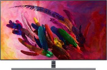QLED телевизор Samsung QE-65 Q7FNAUXRU очаг электрический alex bauman 3d fog 24