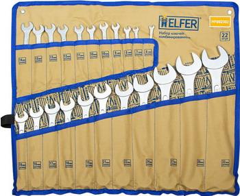 Набор комбинированных ключей HELFER HF 002302 набор инструментов разного назначения helfer hf 000011