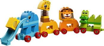 Конструктор Lego DUPLO My First: Мой первый парад животных 10863 конструктор lego duplo мой первый поезд 10507