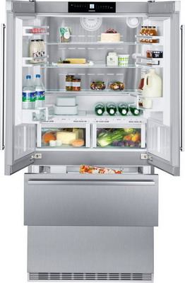 встраиваемый многокамерный холодильник liebherr ecbn 6256 22 Многокамерный холодильник Liebherr CBNes 6256-24