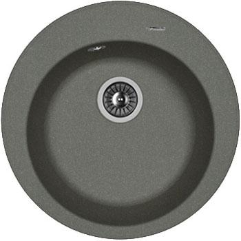Кухонная мойка Florentina Никосия D 510 черный FG искусственный камень