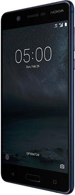 Мобильный телефон Nokia 5 Dual Sim синий новая мода поощрение супер комбо 5 0 x7 смартфон мобильный телефон