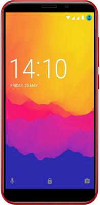 Смартфон Prestigio Wize Q3 Red смартфон prestigio wize q3 8 гб черный psp3471duoblack
