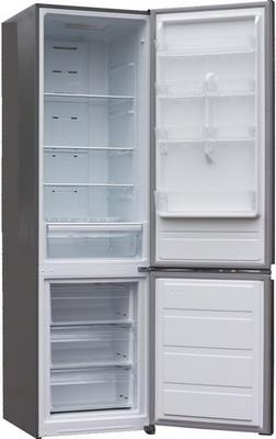 Двухкамерный холодильник Shivaki BMR-2014 DNFX холодильник shivaki bmr 2013dnfw двухкамерный белый