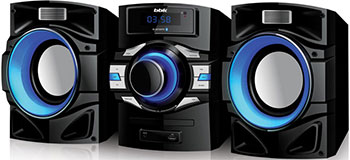 Музыкальный центр BBK AMS 119 BT черный bbk ams 110 bt черно темно синий