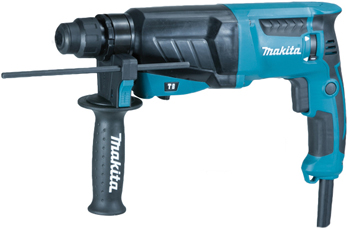 Перфоратор Makita SDS Plus HR 2630 перфоратор hr2810 800 вт 2 9 дж sds plus makita