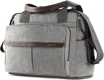 Сумка к коляске Inglesina DUAL BAG M. GREY MELANGE сумка meizu waterproof travel bag grey 74569