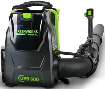 Воздуходув Greenworks GC 82 BPBK5 с 1хАКБ 5 А.ч. и ЗУ 2402507 UB аккумуляторный культиватор greenworks g40tl 27087 без аккум и зу