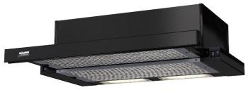 Встраиваемая вытяжка Krona Steel Kamilla 600 Black 2 мотора вытяжка krona kamilla sensor 600 inox white glass