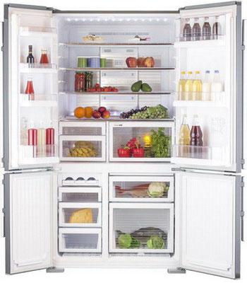 Многокамерный холодильник Mitsubishi Electric MR-LR 78 G-ST-R холодильник mitsubishi mr lr78g st r