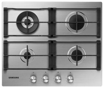 Встраиваемая газовая варочная панель Samsung NA 64 H 3040 AS/WT