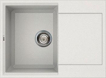 Кухонная мойка Elleci EASY 135 680*500 granitek (68) titano LGY 13568 цена