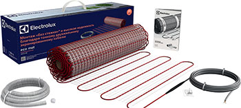Теплый пол Electrolux EEM 2-150-3 (комплект теплого пола) теплый пол нагревательный мат rexant extra площадь 7 0 м2 0 5 х 14 0 метров 1120вт двух жильный