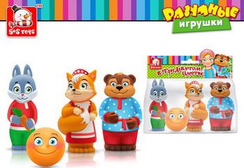 Набор игрушек для купания SS Toys В тридевятом царстве