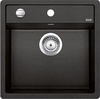 Кухонная мойка BLANCO DALAGO 5-F SILGRANIT антрацит с клапаном-автоматом мойка blanco classik 45s silgranit 521308 антрацит