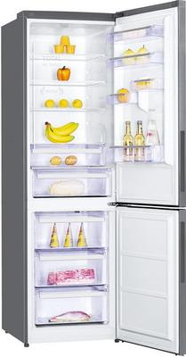Двухкамерный холодильник Kraft KFHD-450 HINF нержавеющая сталь