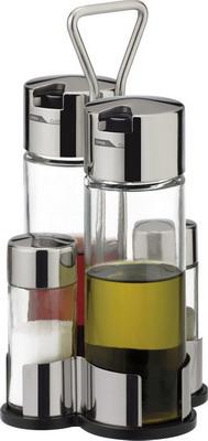 Набор емкостей для масла, уксуса, соли и перца Tescoma CLUB 650354 набор для масла и уксуса else augusta 3 предмета