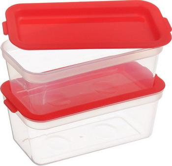 Контейнер Tescoma PURITY 300мл 2шт 891876 набор контейнеров для заморозки tescoma purity цвет красный прозрачный 300 мл 2 шт