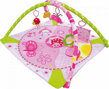 Коврик развивающий Balio PB-04 развивающий коврик моя принцесса 5 в 1 цвет розовый