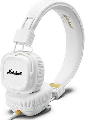 Наушники Marshall Major II White наушники marshall major ii brown