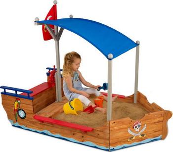 Песочница KidKraft Пиратская лодка 00128_KE banbao пиратская лодка 502 детали 8707