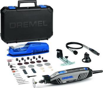 Многофункциональная шлифовальная машина Dremel 4300-3/45 F 0134300 JD многофункциональная шлифовальная машина dremel 8220 2 45 12 v f 0138220 jj