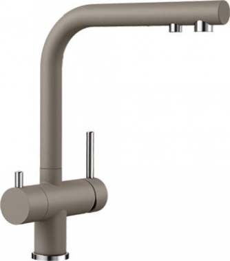 Кухонный смеситель BLANCO FONTAS II SILGRANIT серый беж 523136 blanco alta 512319 tap mixing valve oriental style chrome by blanco
