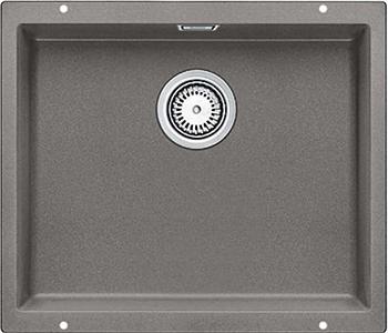 Кухонная мойка BLANCO 523439 SUBLINE 500-U SILGRANIT серый беж с отв.арм. InFino blanco subline 350 150 u серый алюминий