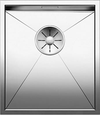 Кухонная мойка BLANCO ZEROX 340-IF нерж. сталь зеркальная полировка 521582 blanco elipso s ii нерж сталь зеркальная