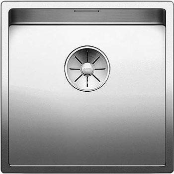 Кухонная мойка BLANCO CLARON 400-IF нерж. сталь зеркальная полировка 521572 мойка кухонная blanco dana if полированная нерж сталь 514646