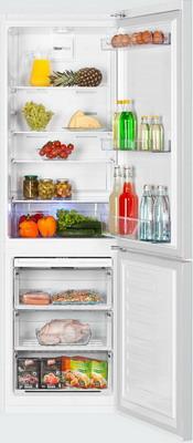 Двухкамерный холодильник Beko RCNK 321 K 00 W холодильник beko rcnk365e20zx двухкамерный нержавеющая сталь