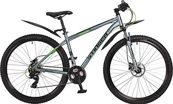 Велосипед Stinger 29'' Graphite HD 18'' серый 29 AHD.GRAPHHD.18 GR7