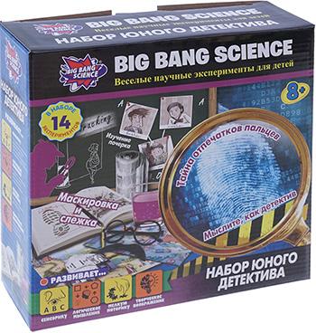 Набор юного детектива Big Bang Science 1CSC 20003292 big bang science набор для опытов big bang science мини эксперимент магия науки