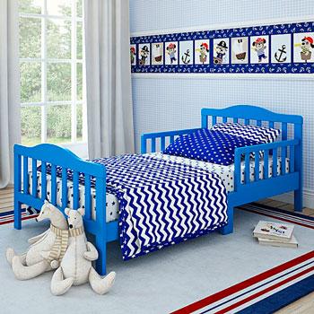 Детская кроватка Shapito Candy Blue GB 2015 K-B 150х70