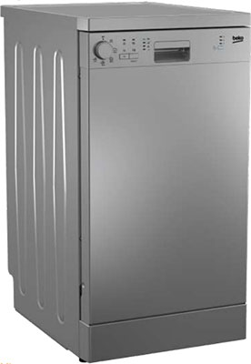 Посудомоечная машина Beko DFS 05 W 13 S серебристый посудомоечная машина beko dfs 28020 x